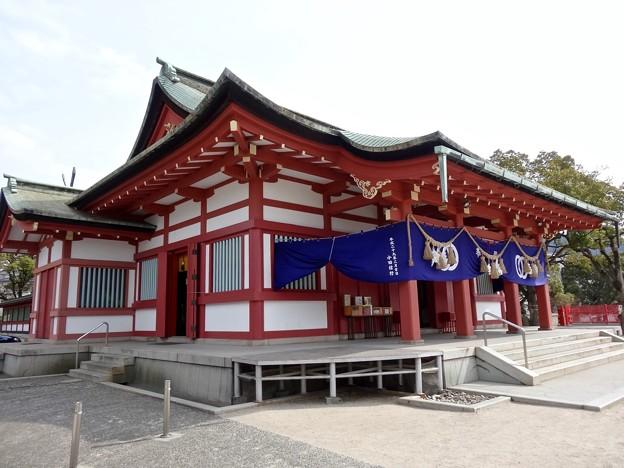 亀山神社 拝殿 呉市清水1丁目 2017年3月16日