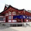 Photos: 亀山神社 拝殿 呉市清水1丁目 2017年3月16日