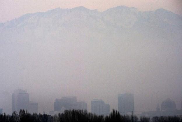 Salt Lake City にも環境汚染