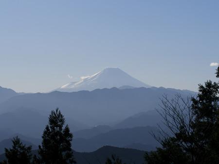 景信山より富士山を望む