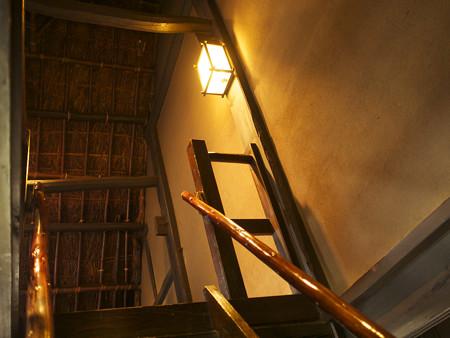 旧城田家二階へ