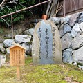 写真: 飛鳥坐神社境内の万葉歌碑 (3)