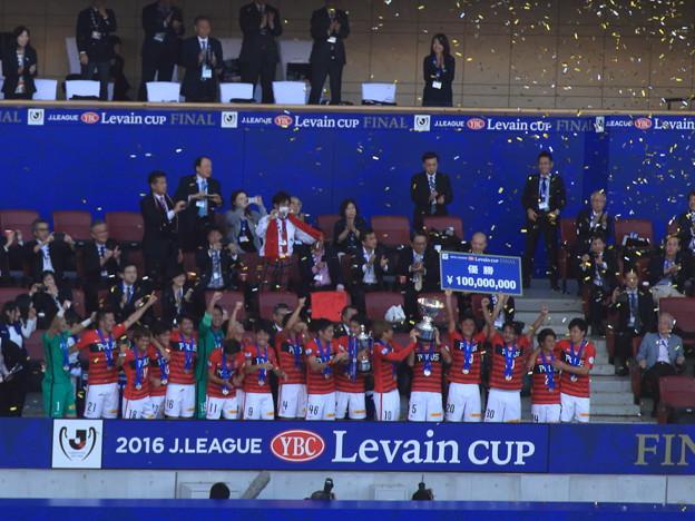 祝♪ ルヴァンカップ優勝