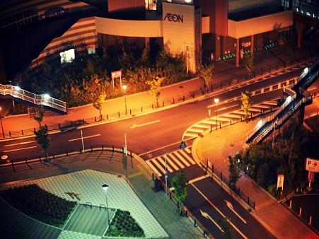 午前3時の交差点