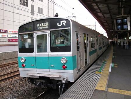203系(亀有駅)