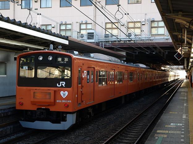 写真: 201系(八王子駅)2