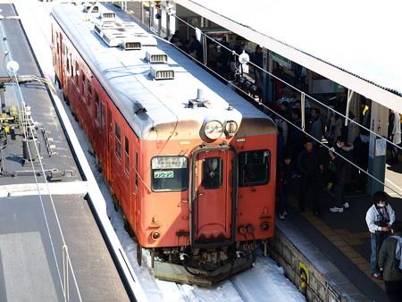 キハ52-156(南小谷駅)2