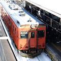 写真: キハ52-156(南小谷駅)2