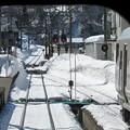 写真: 大糸線キハ52-156後方車窓3