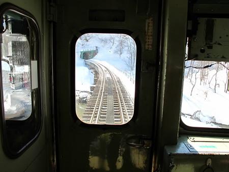 大糸線キハ52-156後方車窓7