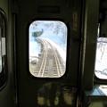 写真: 大糸線キハ52-156後方車窓7