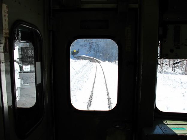 写真: 大糸線キハ52-156後方車窓8