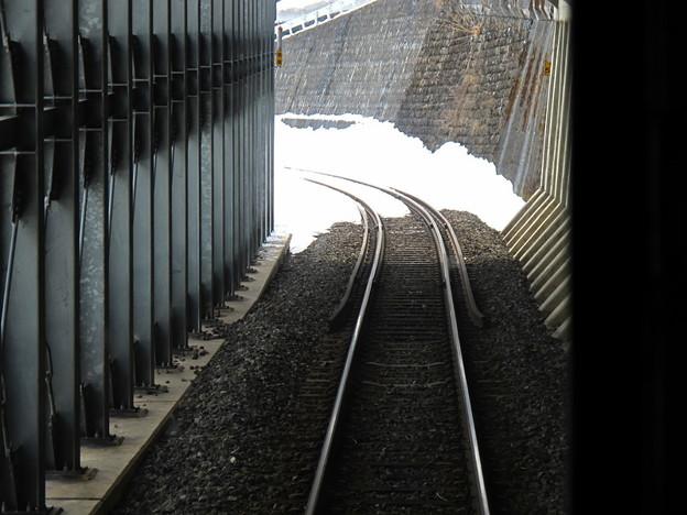 写真: 大糸線キハ52-156後方車窓17