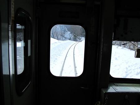 大糸線キハ52-156後方車窓30