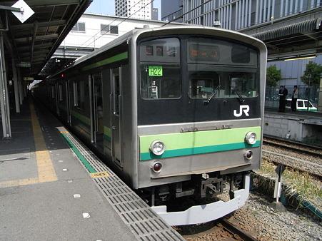 横浜線205系H22編成(橋本駅)