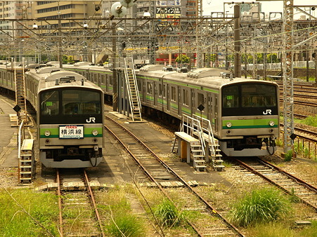 205系横浜線(東神奈川)2