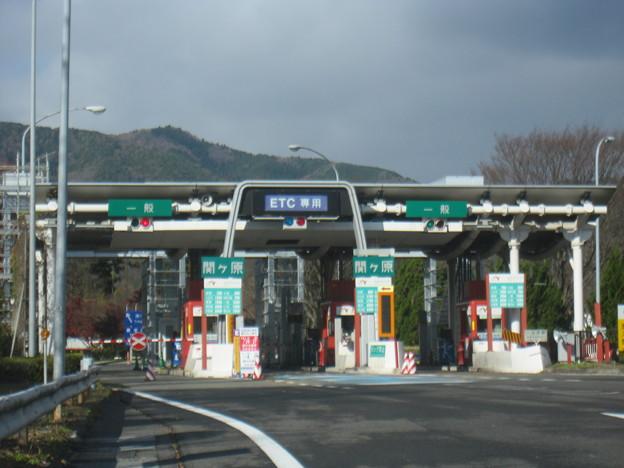 関ヶ原料金所(出口)