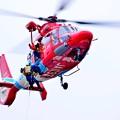 Photos: 災害救助訓練