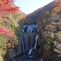 写真: 晩秋の袋田の滝