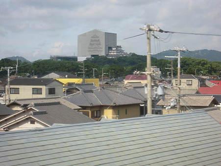 姫路城改装中s