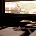 Photos: 工房の窓から見えた景色