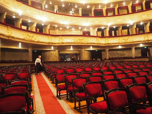 いすの海~オペラ・バレエ劇場 Opera House,Kiev