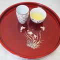 ウーロン茶はいかが Tea Tray for Oolong Tea