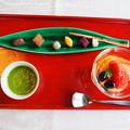 写真: 下鴨茶寮のデザート Shimogamosaryo's Dessert