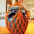写真: 葩会茶会*口切や朱の色冴える壺飾 Tsubo Kazari