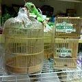 写真: 竹かご各種、入荷しました。