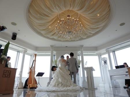 娘の結婚16 スカイチャペル(リハ)