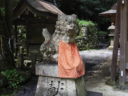 貴船神社 奥宮13 狛犬「吽」