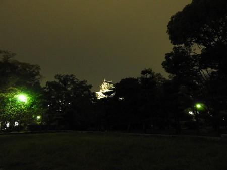 広島城ライトアップ01