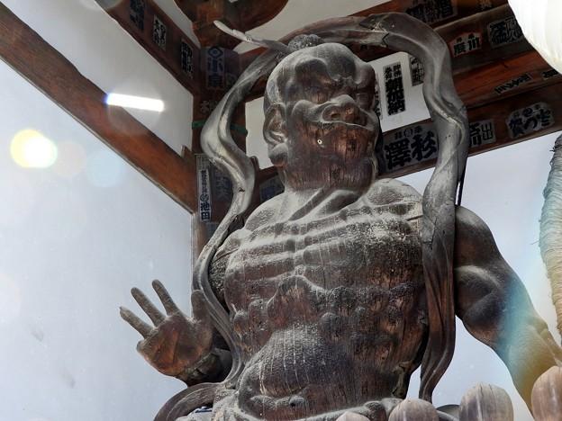 石山寺09 東大門 仁王吽形