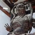 写真: 石山寺09 東大門 仁王吽形