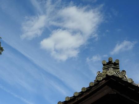 石山寺79 芭蕉庵と月見亭の間の建物