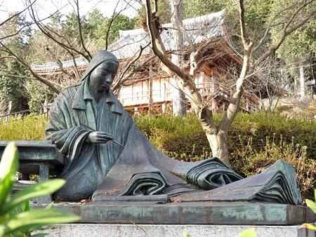 石山寺111 紫式部像2