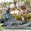 写真: 石山寺111 紫式部像2