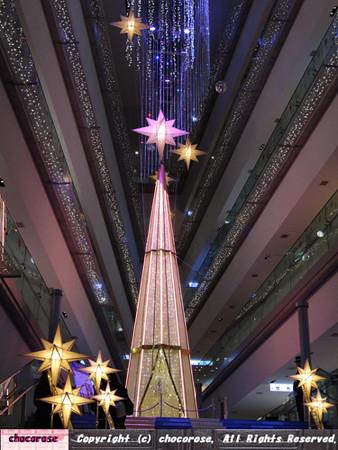 表参道ヒルズのクリスマスツリー2016