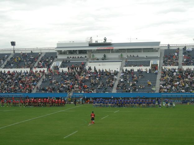 ラグビー観戦NTTコム対東芝
