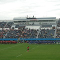 Photos: ラグビー観戦NTTコム対東芝