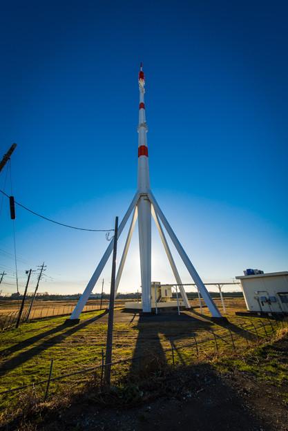 ロケットみたいな新開タワー@西浦和
