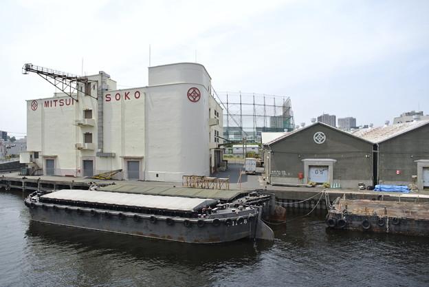 千若町の三井倉庫