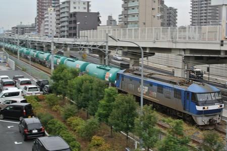東海道貨物支線高島線/旧新興駅付近