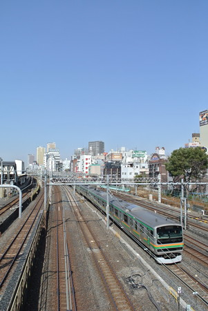 東北本線/尾久ー上野