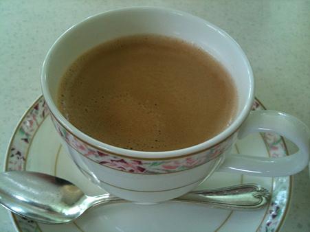 ラグナガーデン アトリウムラウンジ ホットコーヒー