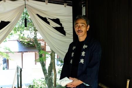 2016.08.05 円覚寺 如意庵 庭師