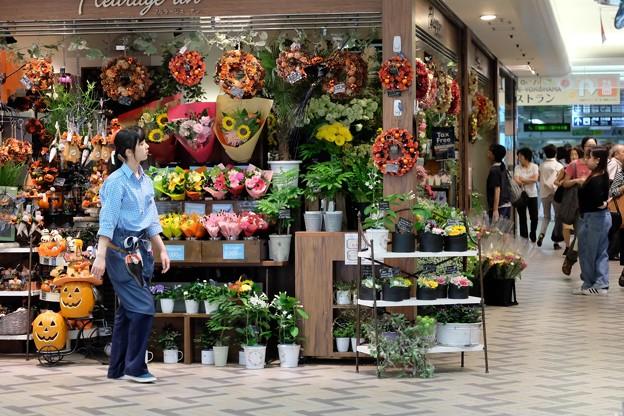 2016.09.02 横浜駅 Fleurage un