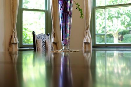 2016.09.02 ブラフ18番館 テーブルの緑