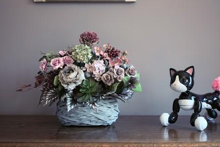 2016.10.26 ベーリック・ホール 応接 サウィン祭 猫に感謝